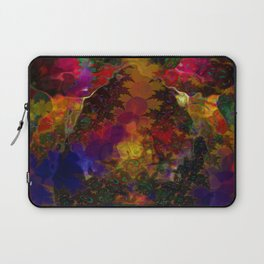 Stereo Trippin' Psychedelic Fractal Laptop Sleeve