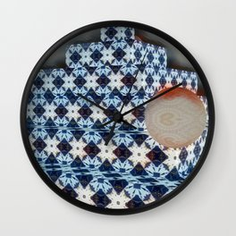New Color Pyramide 4 Wall Clock