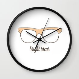 Glasses Ar Wall Clock
