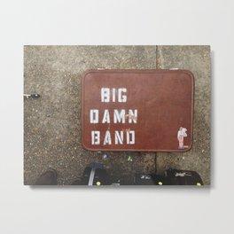 Reverend Peyton's Big Damn Band, Clarksdale, Mississippi Metal Print