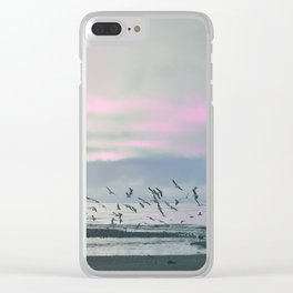 The Seagulls 3 Clear iPhone Case