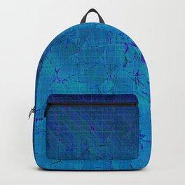 Distortion (Blue Skies) Backpack