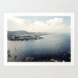 Wanderlust {Rio Art Print