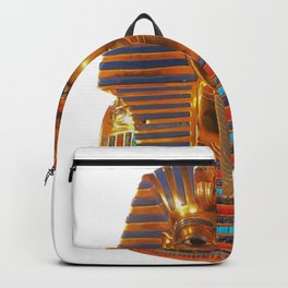 King Tut Egyptian Death Mask Backpack