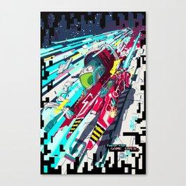 Faster than GAME OVER v2.0 +T-SHIRT DESIGN+ Canvas Print
