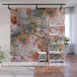 Rainbow Marble 1 Wall Mural