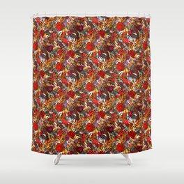 Moody Flower Joy Shower Curtain