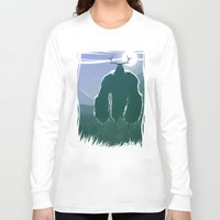 yeti Long Sleeve T-shirts featuring Yeti by Megalomatthew