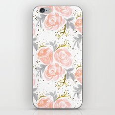 Sparkling Rosé flora iPhone & iPod Skin
