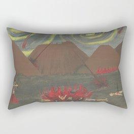 Hell Rectangular Pillow