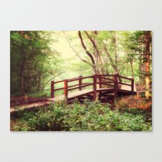 To the Forest Fairy Canvas Print