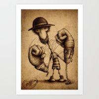 #17 Art Print