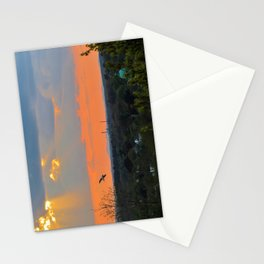 God Rays Sunset (1) Stationery Cards