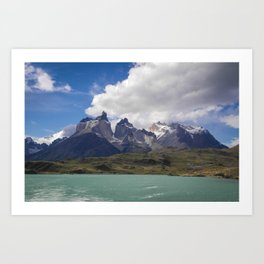 Torres del Paine, Chile Art Print