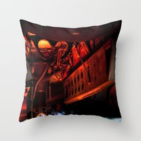 aviation Throw Pillows featuring Aviation by Starr Cuevas Photography