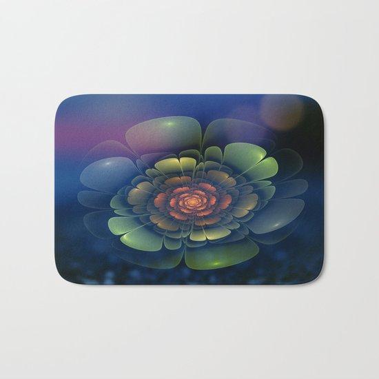 A Beautiful Fractal Flower 2 Bath Mat