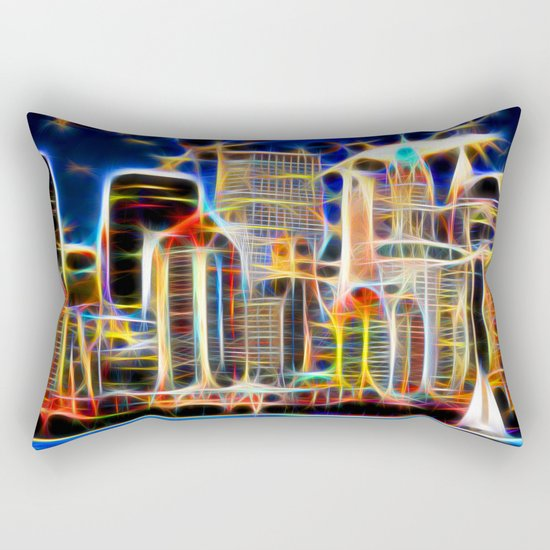NY. Manhattan Rectangular Pillow
