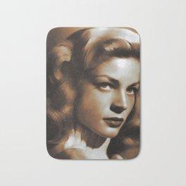 Lauren Bacall, Hollywood Legends Bath Mat