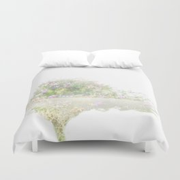 Where the sea sings to the trees - 12 Duvet Cover