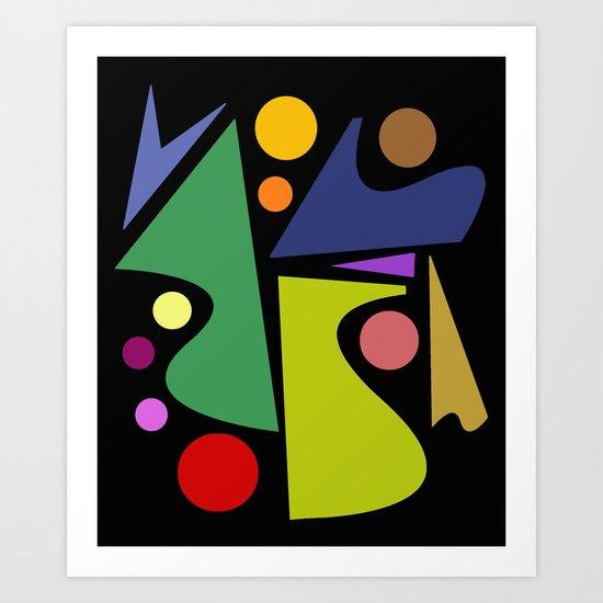 Abstract #301 Art Print