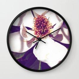 Beauty in a Flower Wall Clock