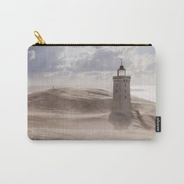 Sandstorm at the lighthouse Carry-All Pouch