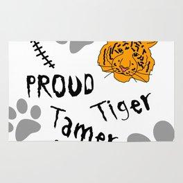 Proud Tiger Tamer Rug