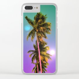 Neptune's Day Clear iPhone Case