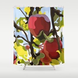 Apple Tree Shower Curtain