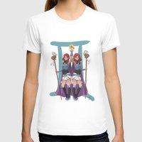 gemini T-shirts featuring Gemini by Kumiko