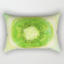 Kiwi Fruit Rectangular Pillow
