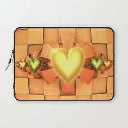 Hearts & Bows Laptop Sleeve