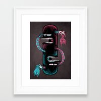 twins Framed Art Prints featuring Twins by Mike Friedrich