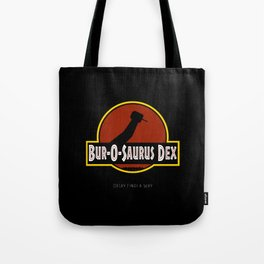 Jurassic Dental Handpiece: Decay Finds a Way Tote Bag