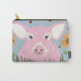 Pink Piggy Carry-All Pouch