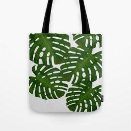 Monstera Leaf I Tote Bag