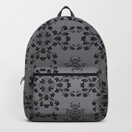 Floral Vines Wallpaper Backpack