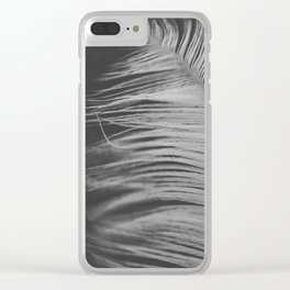 Gentle wind Clear iPhone Case