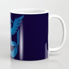 Team Mystic Sparkly blue sparkles Coffee Mug