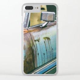 Old Thunderbird Clear iPhone Case