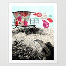 SURF.SUN.FUN. Art Print