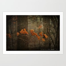 Late Autumn Art Print
