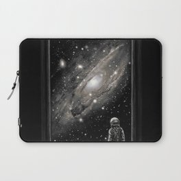 Looking Through a Masterpiece Laptop Sleeve