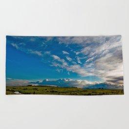 Clouds VII Beach Towel