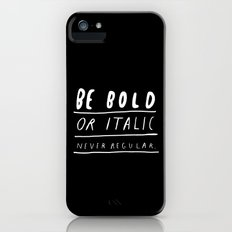 NEVER Slim Case iPhone SE
