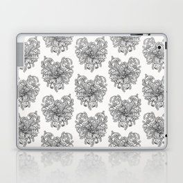 Blooming heart Laptop & iPad Skin
