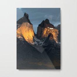Patagonian Morning Metal Print