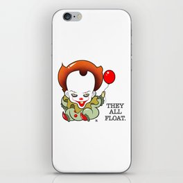 Pennywise From The Movie IT iPhone Skin