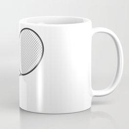 Tennis Racket And Ball 1 Coffee Mug