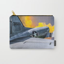 Into the Wild Blue Yonder Plane Print Carry-All Pouch